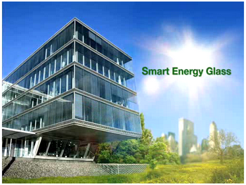 smartenergyglass Smart Energy Glass   Innovative building material idea