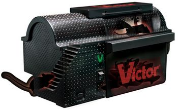 Victor Multi-Kill Electronic Mouse Trap – Sends rodentia down the green mile