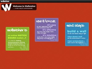 wallwisher small WallWisher   cool free online noticeboard