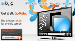 kylo small Kylo   the free web browser for your kick back big TV screen needs