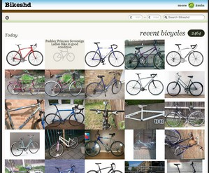 bikeshd small Bikeshd   cool site collates live ad photos to help owners find stolen bikes
