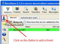 retroshare2 small Retroshare   open source P2P program offers secure file sharing