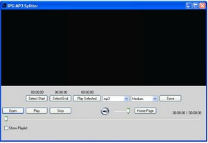spgmp3splitter small MP3 Splitter   freeware lets you trim audio files quickly and easily
