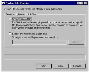 sfc small A Fast Fix for Broken Windows   using SFC to recover a corrupted installation