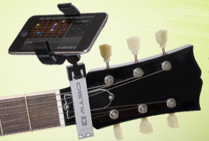guitarsidekick2 Guitar Sidekick   keep your smartphone where you need it