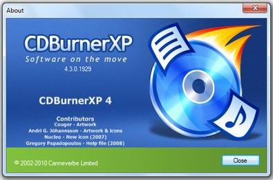 cdburnerxp small CD Burner XP   freeware offers up super simple CD and DVD burning
