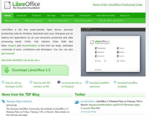 libreoffice small LibreOffice   free open source MS Office alternative hits the streets running