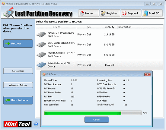 power data recovery Use freeware to recover files from your broken drive