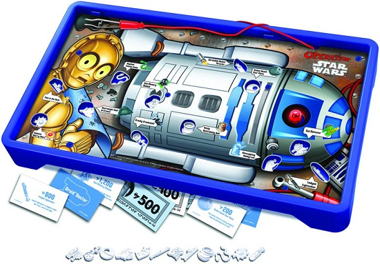 Star Wars Operation lets you dig into R2-D2