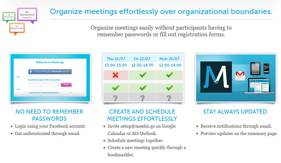 Use Meetin.gs to keep your team organized