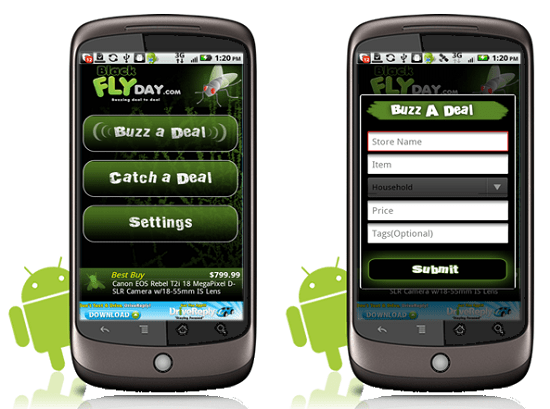 blackflyday Black Flyday app helps you find the best deals in your area