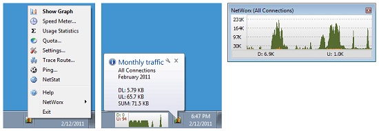 NetWorx NetWorx tracks bandwidth usage, internet speed, and more [Daily Freeware]
