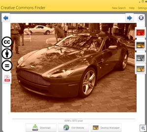 ccfinder3 thumb CCfinder is a great way to find free Creative Commons images [Daily Freeware]