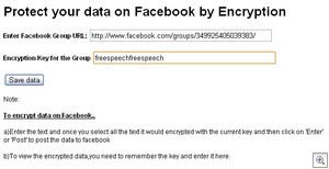encryptfacebook2 thumb Encrypt Facebook extension for Chrome could save your job   or your life [Daily Freeware]