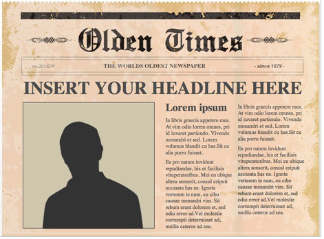 freepowerpointnewspapertemplates Free Powerpoint Newspaper Templates turns you into an instant media mogul