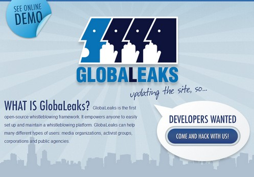 globalleaks small GlobaLeaks lets anyone anywhere create their own free WikiLeaks type whistleblower site