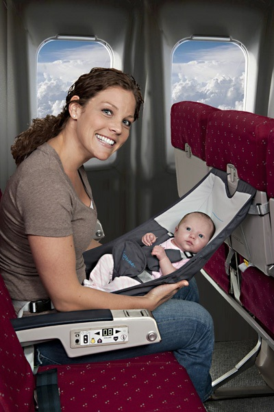 Flyebaby might actually make air travel comfortable