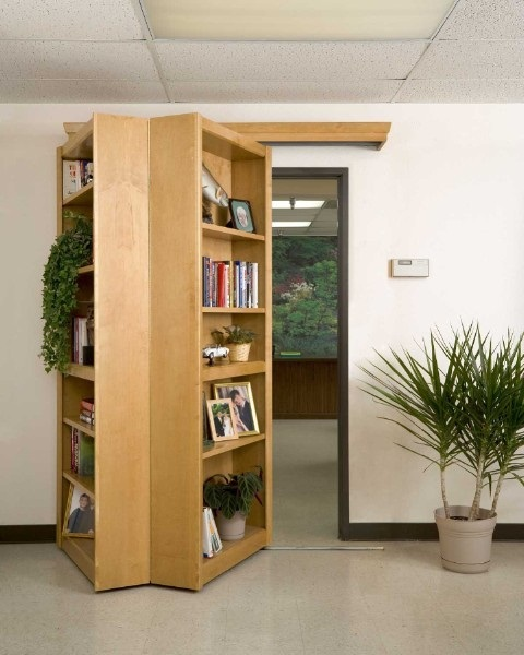 Hidden bookcase Hidden Bookcase preserves the secrecy of your lair
