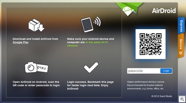 airdroid thumb1 The brilliant Airdroid integrates your smartphone and laptop browser to deliver real awesomeness [Freeware]
