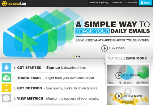 bananatag2 Bananatag offers a simple way to track ALL your emails, even mobile ones