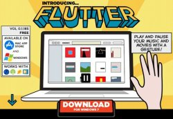 Flutter lets you control your media playback with a wave of the hand [Freeware]
