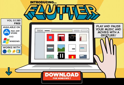 flutter2 Flutter lets you control your media playback with a wave of the hand [Freeware]