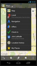 googlemapsoffline2 small Google Maps gets an offline map update...the end of the paper map arrives?