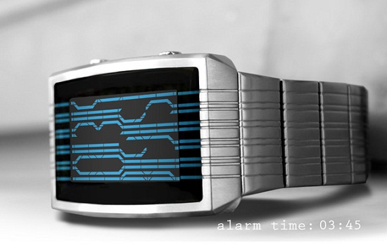 kisai online Kisai Online LCD Watch makes it look like you can read the Matrix