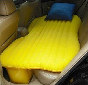 inflatablecarairbed2 Inflatable Car Airbed turns your car into a home sweet home