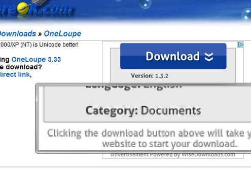 oneloupe 1 OneLoupe makes your laptops tiny text big enough to read [Freeware]