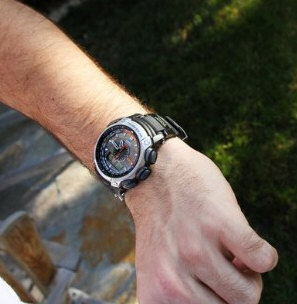 casiopathfindertoughsolar2 Casio Pathfinder Tough Solar   the watch your grandmother would wear if she was a lumberjack