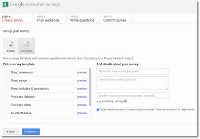 googlesurveys2 1 Google Surveys   conduct your own online surveys on the cheap