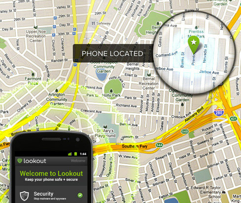 lookout2 Lookout Signal Flare locates your missing phone, even after a dead battery [Freeware]