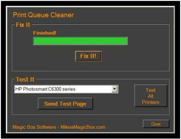 printqueuecleaner Print Queue Cleaner   banish the dreaded Windows printer stall forever [Freeware]