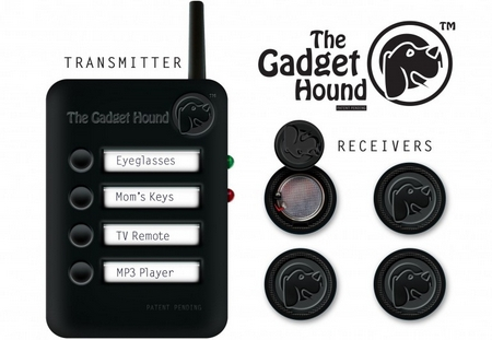 thegadgethoundstandard The Gadget Hound   a handy device that helps you find lost items