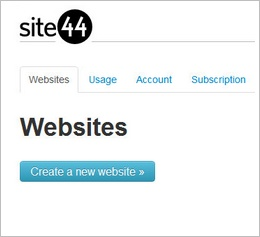site44b Site44 turns Dropbox folders into websites