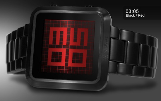 maze watch black red TokyoFlash Kisai Maze (review) – Get lost in time