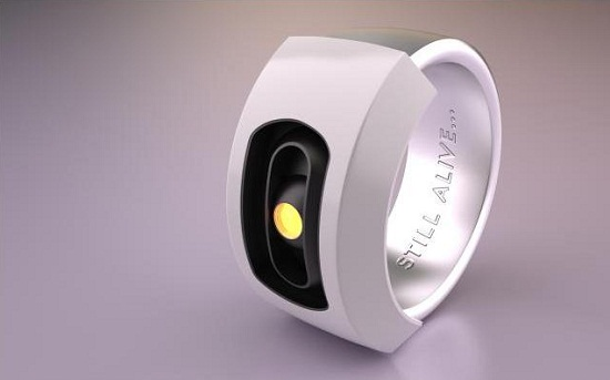 CLaDOS GLaDOS Ring keeps an eye on your favorite test subject