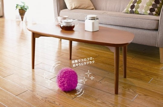 Mocoro Fur Ball Vacuum is like a tribble that cleans