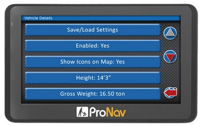 pronav4202 Navevo ProNav 420   the worlds first cyclist friendly truck GPS system