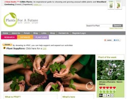 Plants For A Future – a 7000 edible plants database that's good enough to eat