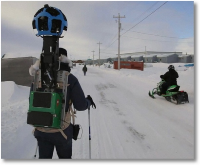 googletrekker Google Street View Trekker Projects   fancy exploring the world with a borrowed camera on your back?