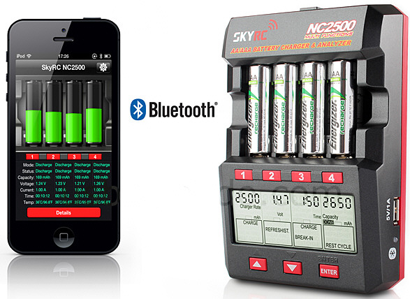 skyrcnc2500chargeranalyzer SKYRC NC2500   the worlds most advanced battery charger and analyzer
