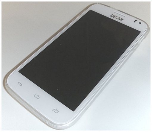 yezzandya5front 2 Yezz Andy A5   a budget Android smartphone? Ill stick with my iPhone for now, thanks... [Hands on]