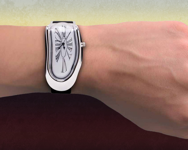 meltingwatch Melting Watch   surreal art for the wrist tells them all how quirky you are