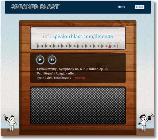 speakerblast3 Speaker Blast   innovative speaker sync could be a real blessing for flash mobs and drive ins