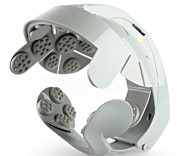 usbheadbrainmassager USB Head Brain Massager   improve memory, sleep better and...er...look great?