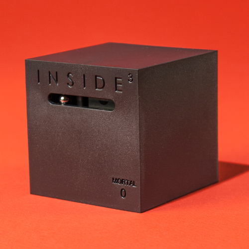 Inside3 Labyrinth Puzzle Cube Mortal Inside³ Labyrinth Puzzle Cube   Stretch your brain by trapping it in a super maze.