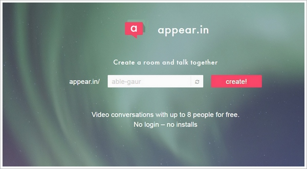appearin Appear.in   free video conversations with up to 8 people, no login, no install