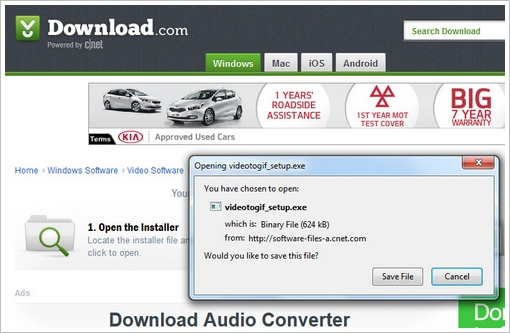 downloadcomfreeware2 Free Video To GIF Converter   great little free utility...with a caution about freeware in general [Freeware]